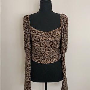 Women's Leopard Top